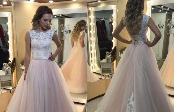 Prom bridal dress